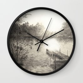 Boat Launch Wall Clock