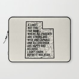 Raising Arizona - Maybe It Was Utah Laptop Sleeve