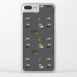 In the Company of Hats Clear iPhone Case