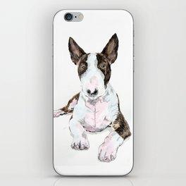 Bullterrier Dog iPhone Skin