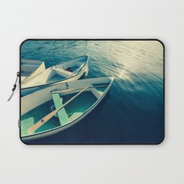 On the Water - Boats Laptop Sleeve