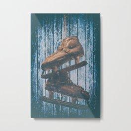 The Old Skates Metal Print