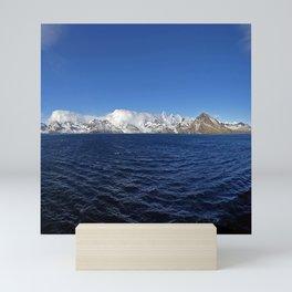 Antarctic Mountain Range Mini Art Print