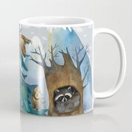 In the winter forest Coffee Mug