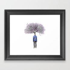 Treenager Framed Art Print