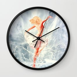 Naiad IV Wall Clock