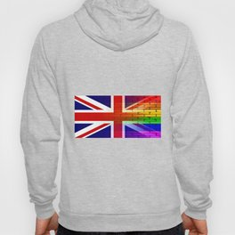 Gay Rainbow Wall Union Jack Hoody