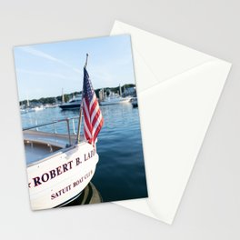 The Launch at the Boat Club Stationery Cards