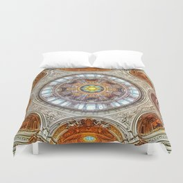 Cathedral Dome Ceiling, Berlin Duvet Cover