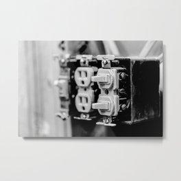 Light Switch 3 Metal Print
