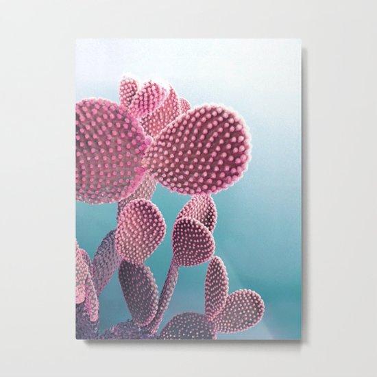 Candy Cactus Metal Print