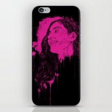 Black Pink Pop iPhone & iPod Skin