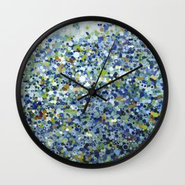 Leo Carrillo Dotted Beach Pattern Wall Clock