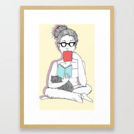 The Multitasker Framed Art Print