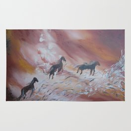 The Sylph Riders Rug