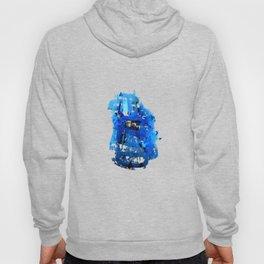 Blue Emotion Hoody