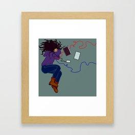 Plugged In Framed Art Print