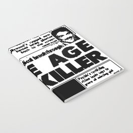 SPACE AGE PAIN KILLER (2016) Notebook