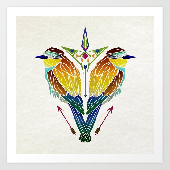 birds love Art Print