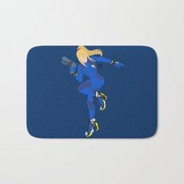 Zero Suit Samus(Smash)Blue Bath Mat