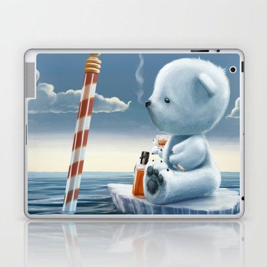 Derek The Depressed Bear Laptop & iPad Skin