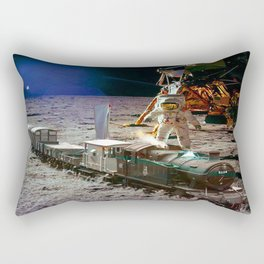 Moon Express Rectangular Pillow