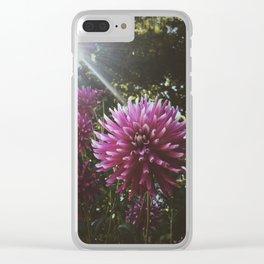 Lush Sunbeam Clear iPhone Case