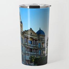 Denton's Courthouse-on-the-Square Travel Mug