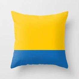 flag of Opole Throw Pillow