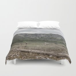 Avalanche Lake No. 1 - Glacier NP Duvet Cover
