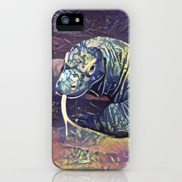 Komodo Dragon iPhone Case