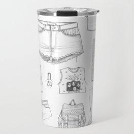 INSIDE HER CLOTHES Travel Mug