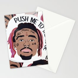 Push Me to The Edge Stationery Cards