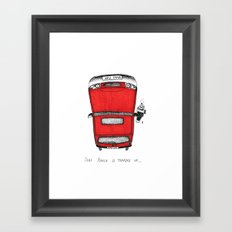 Ford Fiesta Framed Art Print