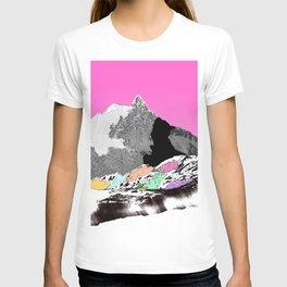 Technicolor landscape T-shirt