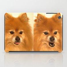 Cute Pomeranian dog iPad Case