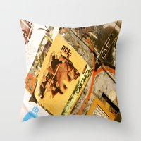 ace Throw Pillows featuring Ace by Global Graphiti