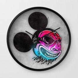Evil Mickey 2 Wall Clock