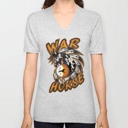 War Horse Unisex V-Neck