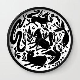 Daimon moon Wall Clock
