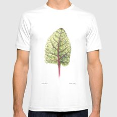 Swiss Chard Mens Fitted Tee White MEDIUM
