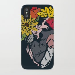 Floral Mexican Heart iPhone Case