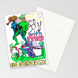 Come and Fly With me! Stationery Cards