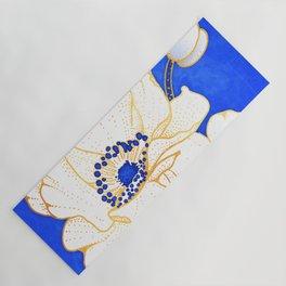 Ultramarine Blue :: Anemones Yoga Mat