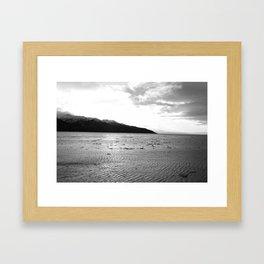 Turnagain Arm Alaska Framed Art Print