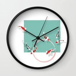 Koï Carp Wall Clock