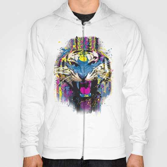 Inked Tiger Hoody