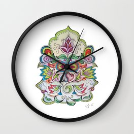 Relax, all will be fine Wall Clock
