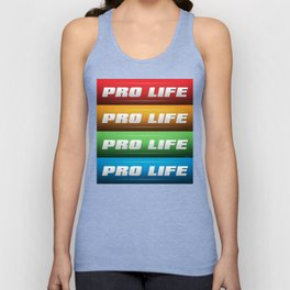 Pro Life Collage Unisex Tank Top