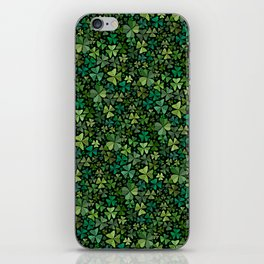 Luck in a Field of Irish Clover iPhone Skin